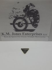 70-4016B / E4016, Patent Plate, Brass, Triumph