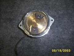 41-46 oil & amp gage  [silver]