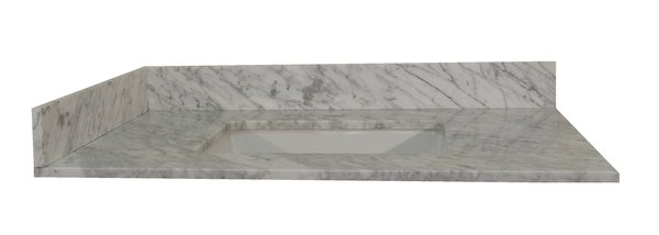 Carrara White Collection Vanity Top 37 Quot Ngy Stones
