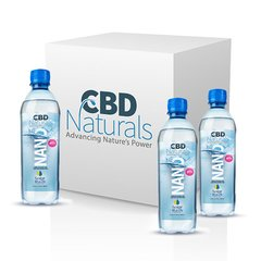 12CBD Water 9+ ph + 3 Vitamins 1 liter