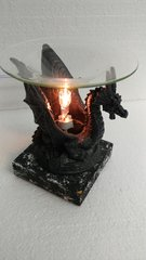 One of a Kind Small Dragon Electric Burner Black Base