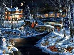 3 Christmas Fantasy Large Gel