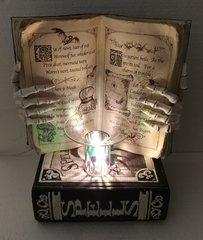 One of a Kind Big Halloween Book Adjustable Electric Burner