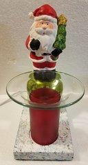 One of a Kind Small Christmas Santa Adjustable Electric Burner