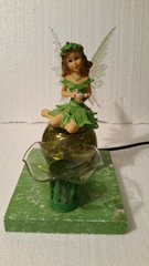 One of a Kind Green Fairy Adjustable Electric Burner/Warmer