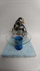 One of a Kind Penguin Family Adjustable Electric Burner
