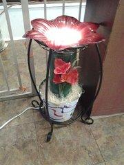 One of a kind Big Flower Porch Electric Burner/Warmer