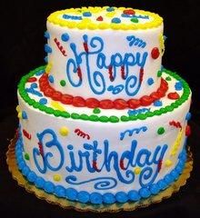 93 Birthday Cake Large Scented Gel