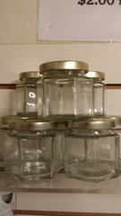 Hexagon Jars for Aroma Crystals