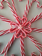 51 Candy Cane Large Scented Gel