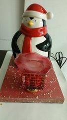 One of a Kind Penguin Cookie Jar Adjustable Electric Burner/Warmer