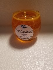 103 Plumeria Small Glass Gel Candle