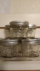 Quilted Jars for Aroma Crystals
