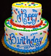 93 Birthday Cake Medium Gel