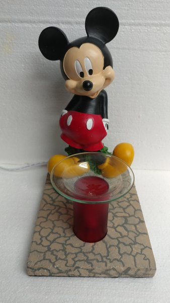 One of a Kind Mickey Mouse Adjustable Electric Burner