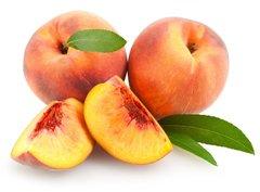 124 Peach Large Scented Gel