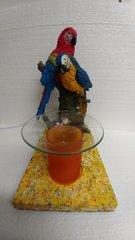 One of a Kind Parrot Adjustable Electric Burner