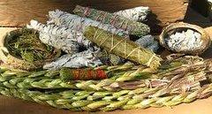47 Sage & Sweetgrass Incense Sticks