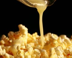119 buttered Popcorn Small Spray
