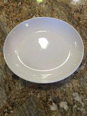 12 x 10.25-Inch White Platter