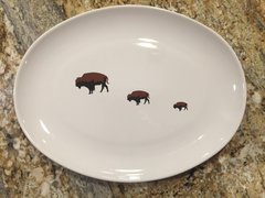 Roaming Buffalo Grill/Serving Platter