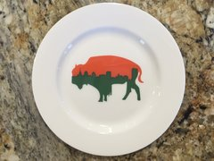 Very Limites Edition Irish Roaming Buffalo Side Plate