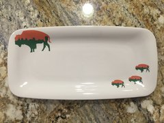 Very Limited Edition Irish Roaming Buffalo Serving Tray