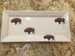 Very Limited Edition Roaming Buffalo Tray