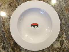 Very Limited Edition Irish Roaming Buffalo Soup Bowl