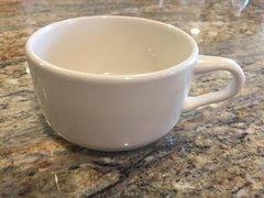 White Cappuccino Cup