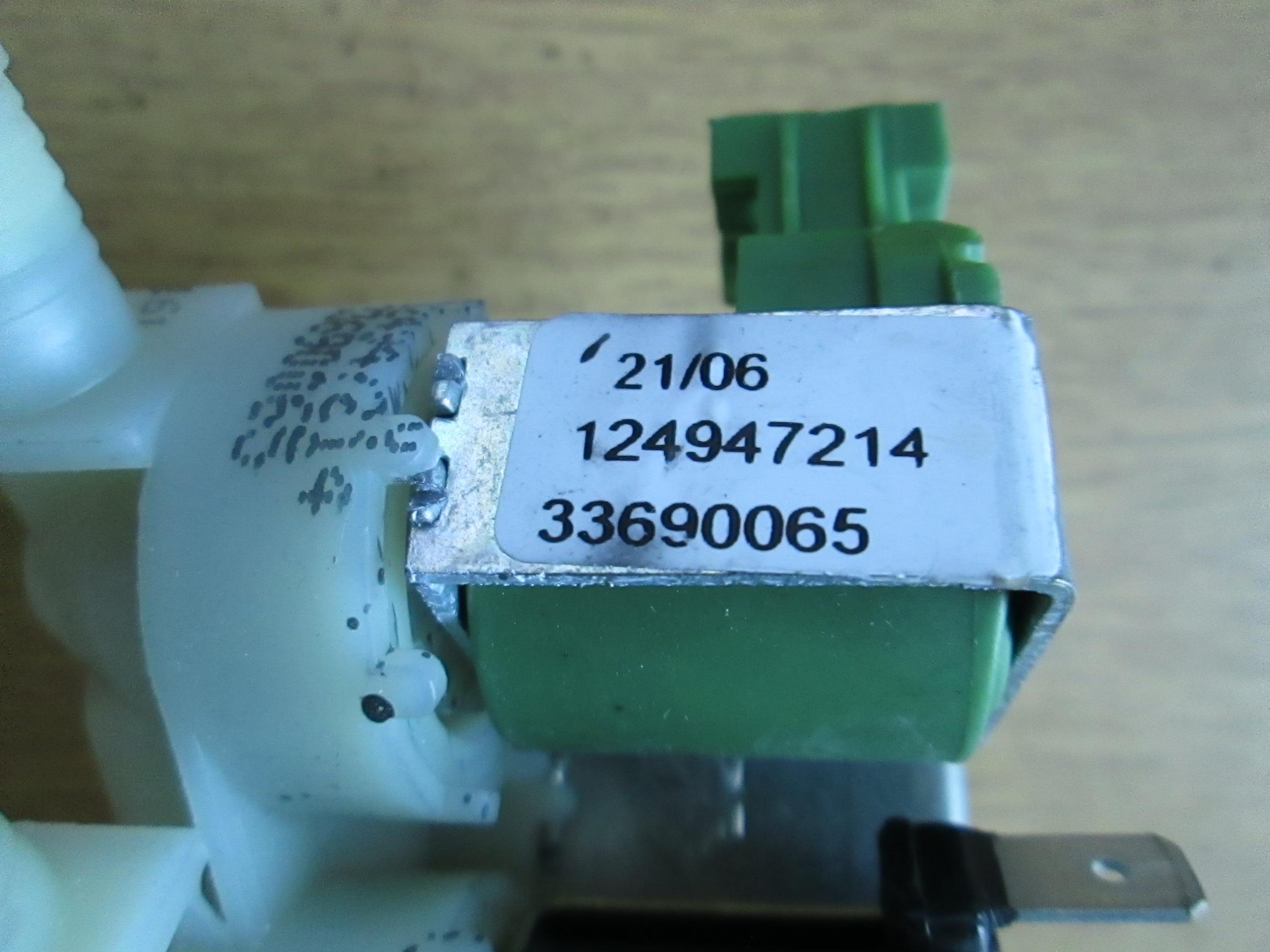 Details about  /GENUINE AEG WASHING MACHINE 3 WAY SOLONOID VALVE 1249472141