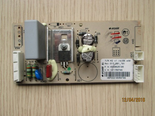 Cooker Tripping Fuse Box : Beko fridge freezer control module sku this