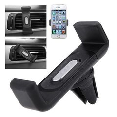 Generic Air Vent Universal Car Mount Holder for All Mobile Phones [4 Inch to 5.55 Inch]