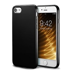 Iphone 8 back cover soft - Black