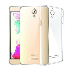 Coolpad Mega 2.5D Back Cover Soft - Transparent