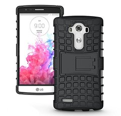 LG G4 Stylus Back Cover Defender Case