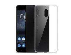 Nokia 6 Back Case Soft - Transparent