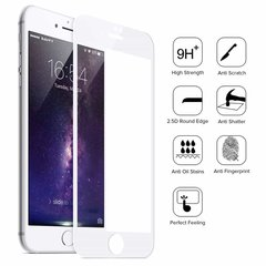 Iphone 8 Plus 5D Tempered Glass White