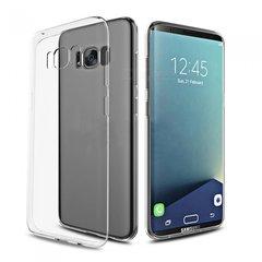 Samsung S8 Plus Back Cover Soft - Transparent
