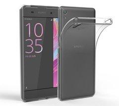 Sony XA1 Plus Back Cover Soft - Transparent