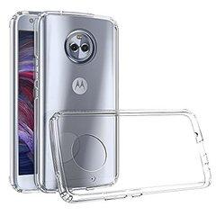 Moto X4 Back Case Soft - Transparent