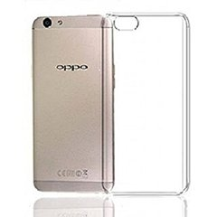 Oppo F3 Back Cover Soft - Transparent