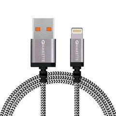 Amkette 775BK Lightning to USB Cable 1.5M