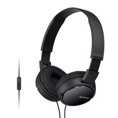 Sony MDR-ZX110AP On-Ear Stereo Headphones with Mic