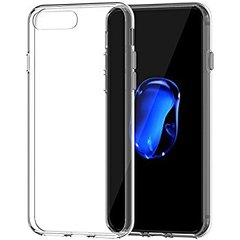 Iphone 8 plus back cover soft - Transparent