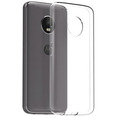 Moto G5S Back Cover Soft - Transparent