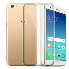 Oppo F3 Plus Back Cover Soft - Transparent