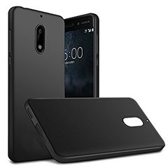 Nokia 6 Back case Soft - Black