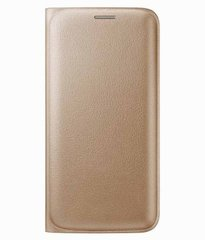 Oppo F3 Plus Flip Cover Gold