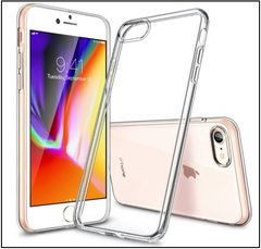 Iphone 8 back cover soft - Transparent